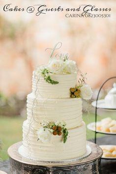Hummingbird wedding cake with cream cheese frostng. Contact Carina 082 300 5301. Lydenburg, Dullstroom, Machadodorp, Burgersfort & Nelspruit