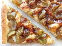 Save that sourdough! Cinnamon Apple Sourdough Flatbread