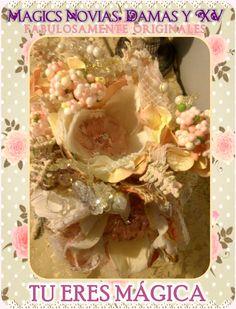 Ramo de Novia o Quinceañera, Hecho a mano, en Mexicali,B.C. By Mony Queen. En Magics Novias y Quinceañeras Tienda #ramo #bouquet #novia #bride #quinceañera #xv #hechoamano #handmade #mexicali #mexico #vintage #rustic #magic #original #lace #encaje #fabric #floral #magics #fairytale #wedding #boda #bridal #nupcial #glam #rose #pink