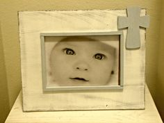 Baptism/Commitment/Dedication Picture Frame with by StellabytheSea, $24.00