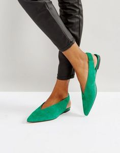 Gestuz Sling Back Suede Shoes