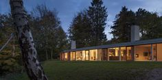 Image 1 of 22 from gallery of Villa Buresø / Mette Lange Architects. Photograph by Hampus Berndtson Sustainable Architecture, Interior Architecture, Interior Design, Dream Home Design, House Design, Home Structure, House Of The Rising Sun, Rural Retreats, Modern Exterior