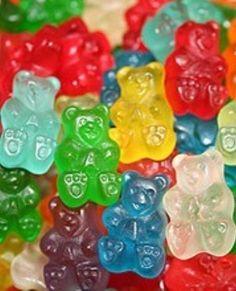 Rainbow gummy bears!