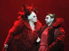 Liudmila Monastyrska&Placido Domingo in 'Macbeth',Berlin,2015