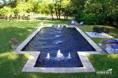 Formal / Geometric Pool #092 by Southernwind Pools