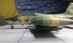 EMB-326 Xavante Força Aérea Brasileira FAB Escala 1/72