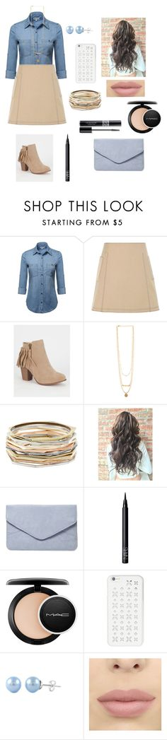 """#64"" by tamara-wolfram ❤ liked on Polyvore featuring Wood Wood, Kendra Scott, Dorothy Perkins, NARS Cosmetics, Christian Dior, MAC Cosmetics and MICHAEL Michael Kors"