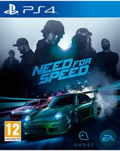 Need for Speed  PlayStation 4 Cover Art