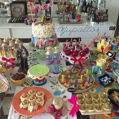 #mesajunina #festajunina #decoração