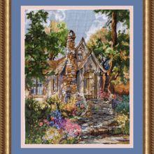 Cross Stitch, Landscape, Painting, Patterns, Art, Ideas, Punto De Cruz, Dots, Block Prints