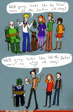 doctor who and scooby-doo