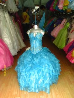 Winx Club Bloom too much for her birthday dress?