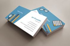 szablon wizytówki Biurowy Business Cards, Cover, Books, Lipsense Business Cards, Libros, Book, Book Illustrations, Name Cards, Visit Cards
