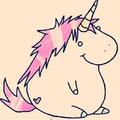 Fat unicorn :3