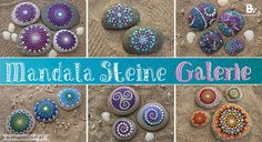 Als ich die wunderschönen Mandala Steine der Australierin Elspeth McLean zum ersten Mal gesehen habe, war ich absolut begeistert. Ihre Kunstwerke haben mich so inspiriert, dass ich mich selbst auch an Mandala Steinen versuchen wollte. Das ging anscheinend nicht nur mir so, denn mittlerweile sieht man die bunten Steine überall im Internet. Wie viele andere musste ich auch feststellen: Wenn man erst einmal los legt, kann man kaum mehr damit aufhören. Geplant waren vielleicht ein, zwei Steine……