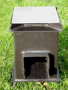 Buy a Heavy Duty Grover Rocket Stove Rocket Stove Design, Dry Sage, Small Stove, Cool Fire Pits, Chicken Crafts, Cooking Stove, Dry Plants, Rocket Stoves, Cold Rolled