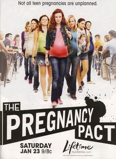 true story about a group of high school girls who decided it would be fun to get pregnant...and then found out what it's really like