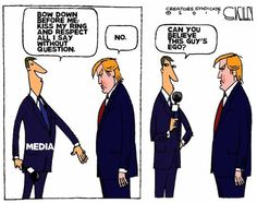 The media (mostly owned by liberal interests) have had far too much power for too long.
