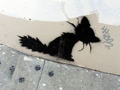Kitteh Graffiti - Cat Street Art From Around the World, San Francisco, California, U.S.A.