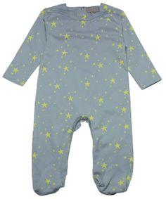Pyjama gris étoiles jaunes