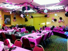 Sweet 16 birthday party I did