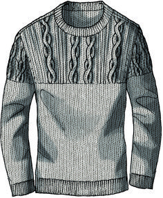 Nice sweater idea from kym Flat Drawings, Flat Sketches, Fashion Illustration Face, Fashion Vector, Fashion Words, Masculine Style, Drawing Clothes, Technical Drawing, Fashion Fabric