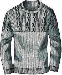 Desing knitwear men