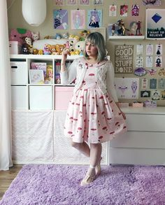 The Woodland Path Faerie Jumperskirt Otome Kei worn by Bububun