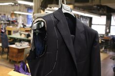 No two people are alike. When a tailor makes a suit by hand, he has endless flexibility to customize the garment to every square inch of its owner.