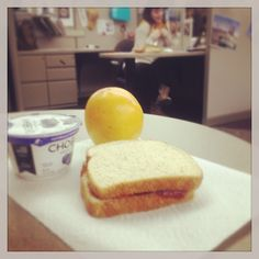 Lunch. #yummy #trending #orange #chobani #bri