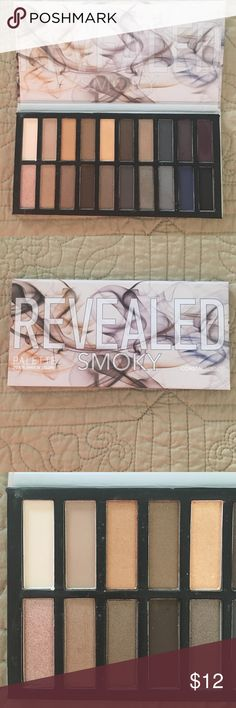 Coastal Scents Revealed Smoky Palette Coastal Scents Revealed Smoky Palette - 20 Eye Shadow Colors‼️ Used lightly- see pictures for usage.  No trades  Coastal Scents Makeup Eyeshadow
