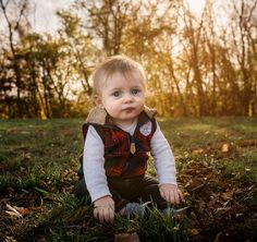 6 month old baby boy sitting outside with golden light coming through the trees in fall Baby Kids, Baby Boy, 6 Month Old Baby, Happy Photos, 6 Month Olds, Baby Milestones, 6 Months, Amber, Trees