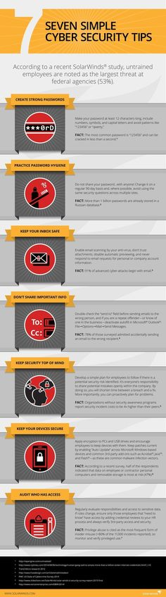 7 Tips To Keep Your Business Safe From Hackers [Infographic] #homeprotectiontips