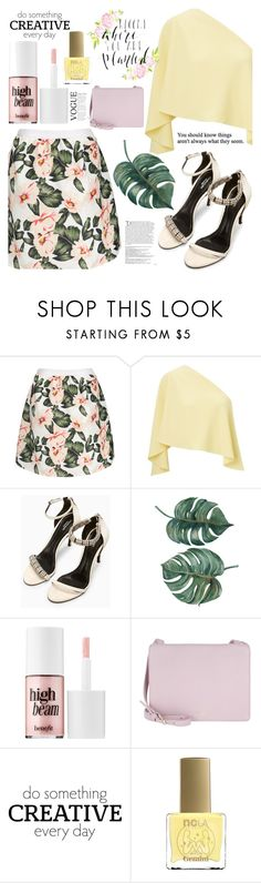 """""""246"""" by erohina-d ❤ liked on Polyvore featuring Roland Mouret, Benefit, Etienne Aigner, Balmain, WALL and ncLA"""