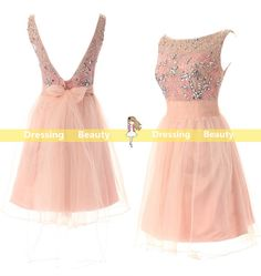 Handmade short homecoming dress sweetheart by DressingBeauty, $108.00