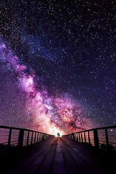 uploads beautiful sky landscape night stars nature amazing milky way bridge Beautiful Sky, Beautiful World, Beautiful Places, Stunningly Beautiful, Ciel Nocturne, Jolie Photo, Galaxy Wallpaper, Nature Wallpaper, Night Skies