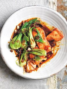This spicy tamarind salmon dish is set to impress at your next family gathering. Serve with bok choy and almonds for a flavour balanced meal.