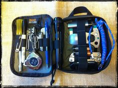 EDC Tool Kit Here's what I'm carrying, today, in my Maxpedition Fatty Organizer Bushcraft, Maxpedition Fatty, Blue Gel, Edc Everyday Carry, Gadgets, Black Sharpie, Edc Tools, Emergency Preparedness, Survival Kits