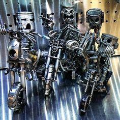 Kreative moderne Metallskulpturen-9