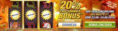Stake7 End-Sommer Bonus 20% auf jede Einzahlung