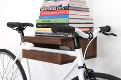 15 Creative Ways to Hang Up Your Bike via Brit + Co.