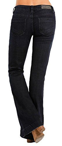 d3086d62fcfee New Rock Roll Cowgirl Rock   Roll Cowgirl Women s Dark Wash Low Rise  Trouser Western Jeans online shopping