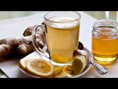 Anti-Inflammatory Ginger Root Tea: Drink this tea to ease gut inflammation and boost your liver health. Pour 1 C Boiling Water over: inch slice Ginger Root 1 Juiced Lemon Wedge 3 Mint Leaves 1 serving-Enjoy! Healthy Drinks, Healthy Eating, Healthy Recipes, Healthy Habits, Healthy Food, Ginger Root Tea, Ginger Beer, Ginger Juice, Ginger Drink