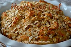 Big Rigs 'n Lil' Cookies: Hearty Oat Loaf