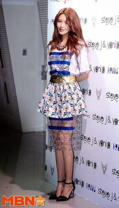 Choi Sooyoung - Seoul Fashion Week 2015