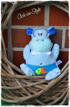 Lovely Hippo Taucher