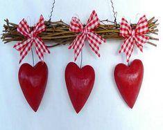 twig heart wall decor