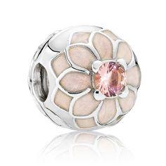 535eb0671 Pandora Blooming Dahlia Clip 791828NBP Pandora Jewelry, Charms Pandora,  Dahlia Flower, Silver Charms