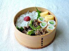 7/23(木)牛肉とアスパラの中華炒め弁当 : おひとりさまの食卓