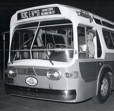 "California: Oakland,  ""AC Transit "" 1961 GM TDH-4516, No. 409"